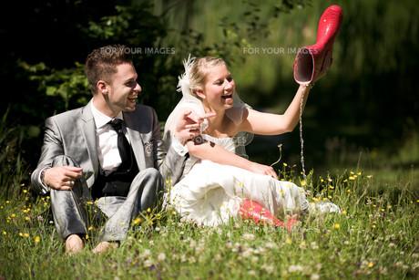 bride and groomの写真素材 [FYI00855713]