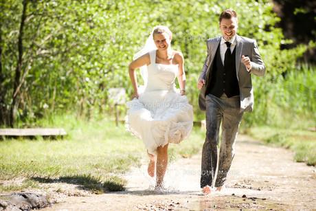 bride and groomの写真素材 [FYI00855714]