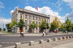 swiss embassy berlin germanyの写真素材 [FYI00855740]