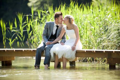 bride and groomの写真素材 [FYI00855745]