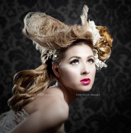 fashion_modelsの写真素材 [FYI00855796]
