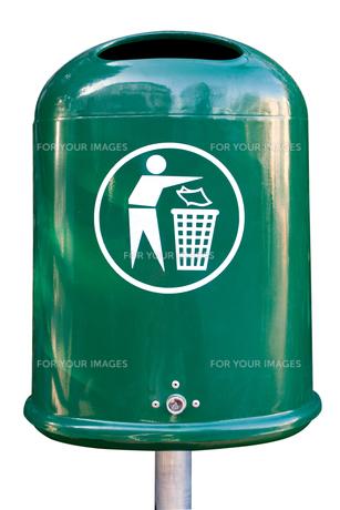 trashcanの写真素材 [FYI00857247]