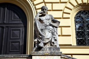 bavarian state libraryの写真素材 [FYI00857362]