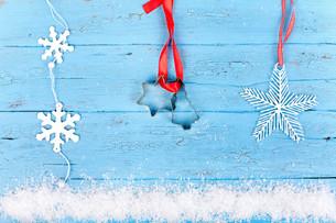 christmas decorationsの写真素材 [FYI00857666]