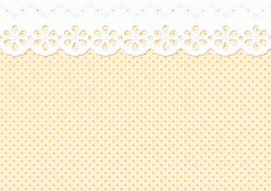 feston / ornament on dot pattern - endlessの写真素材 [FYI00857780]