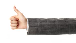 gestureの写真素材 [FYI00858115]