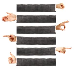 gestureの写真素材 [FYI00858228]