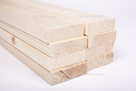 timber spruce with a chamfer or bevelled edgeの素材 [FYI00859905]