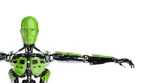 green cyborgの写真素材 [FYI00860086]