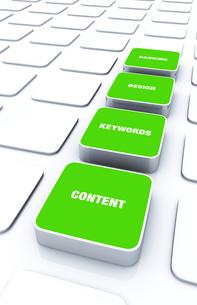3d pads green - keywords design content ranking 8の写真素材 [FYI00860103]