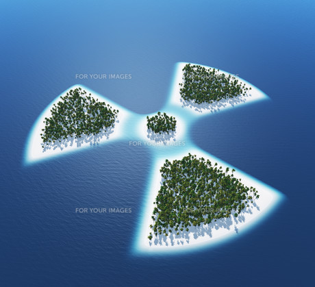 radioactive - island conceptの素材 [FYI00860125]