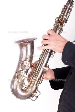 saxophonistの写真素材 [FYI00860626]