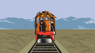 railwayの写真素材 [FYI00861824]