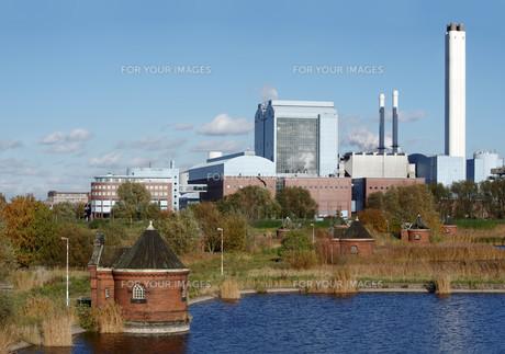 industrial factoryの写真素材 [FYI00862416]