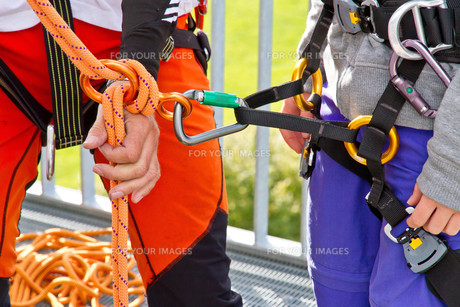 learn climbingの写真素材 [FYI00863438]