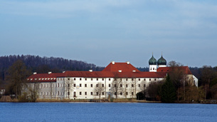 klostersee and seeon,bavariaの素材 [FYI00863478]