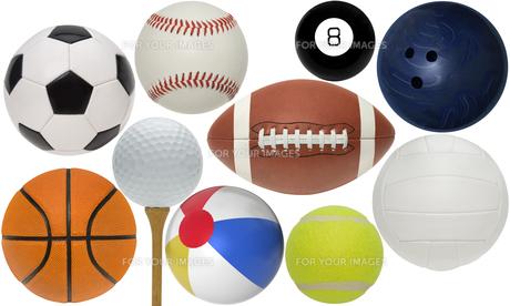 ball_sportsの写真素材 [FYI00863645]