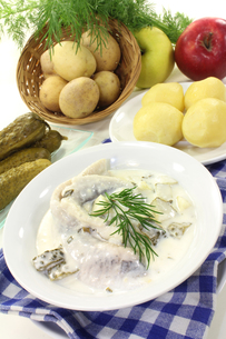 cream herringの写真素材 [FYI00863674]