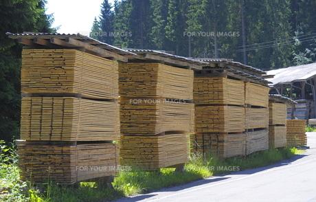 sawmill in freudenstadtの写真素材 [FYI00863806]