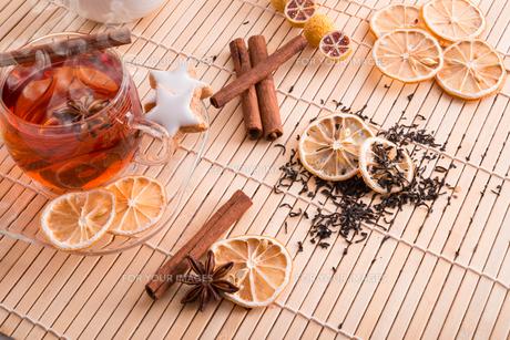 fruit teaの写真素材 [FYI00864009]