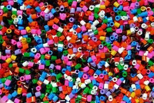 colorful beadsの素材 [FYI00864152]
