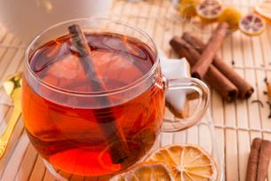 fruit teaの写真素材 [FYI00864286]