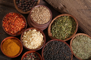 ingredients_spicesの写真素材 [FYI00864332]