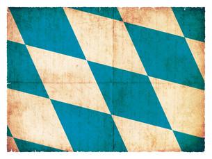 grunge flag of bavaria (germany)の写真素材 [FYI00864335]
