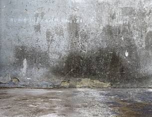 concrete wall structure grayの写真素材 [FYI00864669]