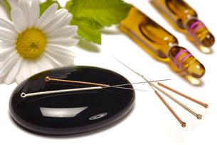 acupunctureの写真素材 [FYI00864847]