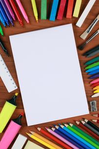 empty notepadの写真素材 [FYI00864984]