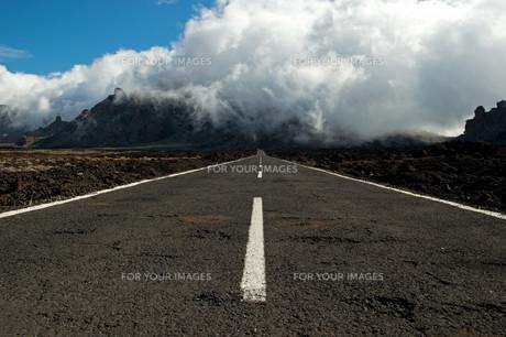 straight roadの素材 [FYI00865014]