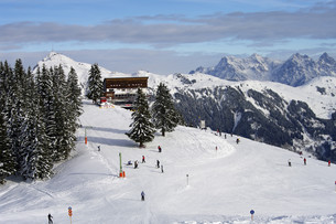 winter sports - kitzb?hel alpsの写真素材 [FYI00866269]