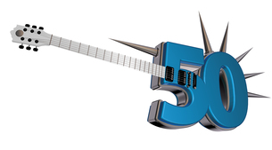 number-fifty-guitarの写真素材 [FYI00866671]