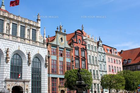 long market in gdanskの写真素材 [FYI00866900]