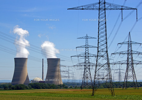 nuclear power stationの素材 [FYI00867040]