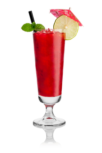 red cocktail iの写真素材 [FYI00867275]
