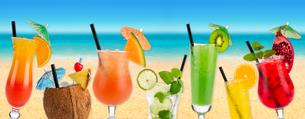cocktail beach iの写真素材 [FYI00867376]