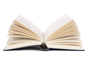 opened bookの写真素材 [FYI00867523]
