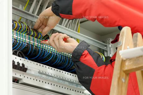 electricianの写真素材 [FYI00867564]