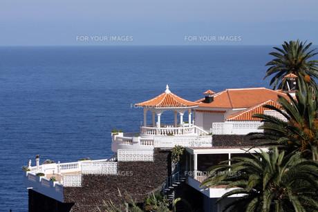 tenerife,canary islands,spain,los realejos,la romantica,settlement,staの写真素材 [FYI00867688]
