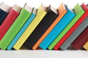 colorful booksの写真素材 [FYI00868444]