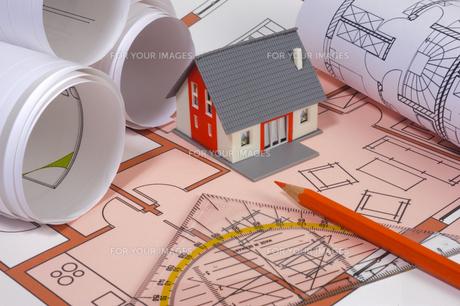 construction planningの写真素材 [FYI00868538]