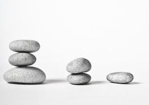 three towers of stonesの写真素材 [FYI00868716]