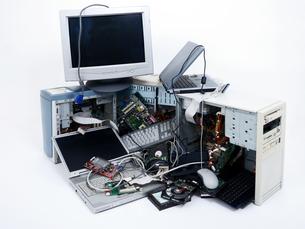 commodity electronic wasteの写真素材 [FYI00868902]