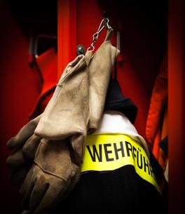 firemen jacket and helmets for useの素材 [FYI00868966]