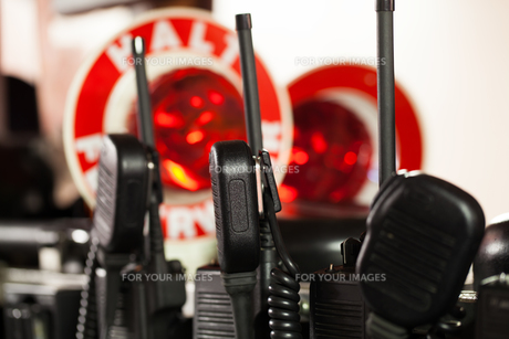 firemen radios for useの写真素材 [FYI00869078]