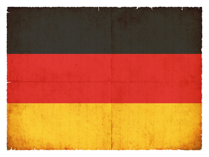 grunge flag germanyの写真素材 [FYI00869690]