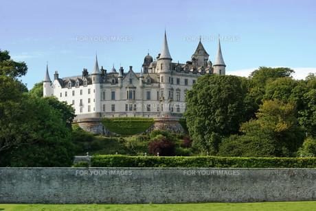 dunrobin castle,scotlandの写真素材 [FYI00869833]