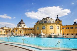 budapest szechenyi bathの写真素材 [FYI00870152]